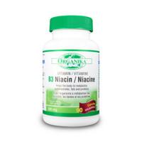 Organika Vitamin B3 (Niacin), 90 Capsules | NutriFarm.ca