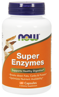 NOW Super Enzyme, 180 Capsules | NutriFarm.ca