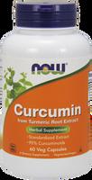 NOW Curcumin, 60 Vegetable Capsules | NutriFarm.ca