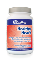 CanPrev Healthy Heart 200 mg, 120 Vegetable Capsules | NutriFarm.ca