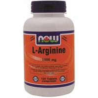 NOW L-Arginine 1000 mg, 120 Tablets | NutriFarm.ca