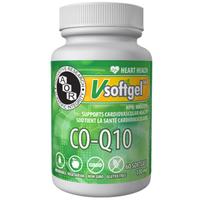 AOR Co-Q10, 60 Softgels   NutriFarm.ca