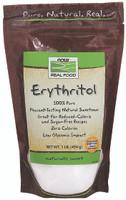 NOW Erythritol, 454 g | NutriFarm.ca