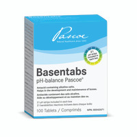 PASCOE Basentabs PH Balance, 100 Tablets | NutriFarm.ca