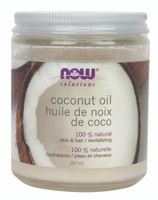 NOW Coconut Oil, 207 ml | NutriFarm.ca