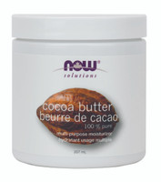 NOW Cocoa Butter 100% Pure, 207 ml | NutriFarm.ca