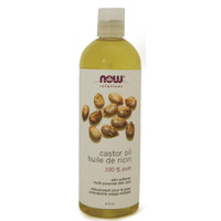 NOW Castor Oil, 473 ml | NutriFarm.ca