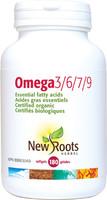 New Roots Omega 3/6/7/9, 180 Softgels | NutriFarm.ca