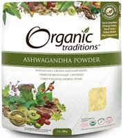 Organic Traditions Ashwagandha Powder, 200 g | NutriFarm.ca