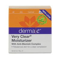 derma e Very Clear Moisturizer, 56 g | NutriFarm.ca