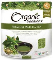 Organic Traditions Premium Matcha Tea, 100 g | NutriFarm.ca