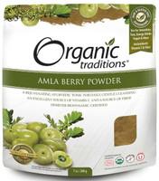 Organic Traditions Amla Powder, 200 g | NutriFarm.ca