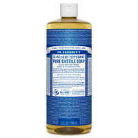 Dr. Bronner's Organic Peppermint Oil Soap, 946 ml | NutriFarm.ca