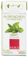 Radius Floss Sachets with Natural Xylitol (Mint), 20 per pack | NutriFarm.ca