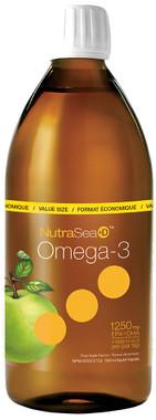 Ascenta NutraSea +D Crisp Apple, 500 ml | NutriFarm.ca