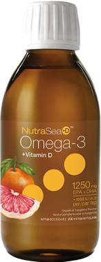 Ascenta NutraSea+D Grapefruit Tangerine, 200 ml   NutriFarm.ca