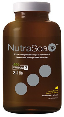 Ascenta NutraSea hp Lemon, 120 Softgels | NutriFarm.ca