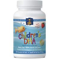 Nordic Naturals, Children's DHA Strawberry Flavour, 180 Softgels | NutriFarm.ca