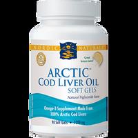 Nordic Naturals Cod Liver Oil Capsules, 90 Softgels   NutriFarm.ca