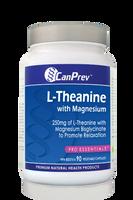 CanPrev L-Theanine With Magnesium, 90 Vegetable Capsules | NutriFarm.ca