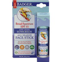 Badger Balms Sport Sunscreen Stick SPF 35, 18.4 g | NutriFarm.ca