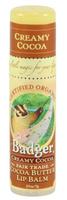 Badger Balms Cocoa Butter Lip Balm (Creamy Cocoa), 7 g | NutriFarm.ca
