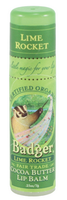 Badger Balms Cocoa Butter Lip Balm (Lime Rocket), 7 g | NutriFarm.ca