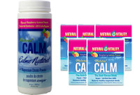 Natural Calm Magnesium Raspberry Lemon, 226 g (8 oz) + 5 Packets FREE | NutriFarm.ca