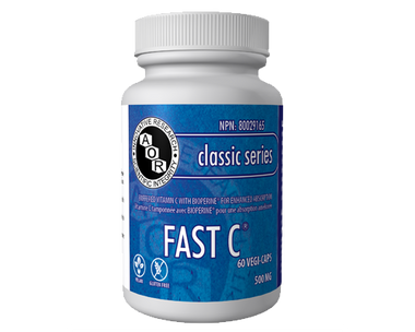 AOR Fast C, 60 Vegetable Capsules | NutriFarm.ca