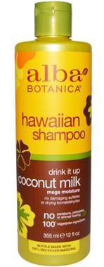 alba botanica coconut milk shampoo, 355 ml | NutriFarm.ca