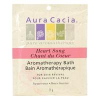 Aura Cacia Heart Song Aromatherapy Bath, 71 g | NutriFarm.ca