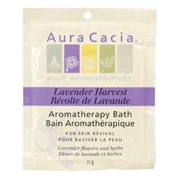 Aura Cacia Lavender Harvest Aromatherapy Bath, 71 g | NutriFarm.ca