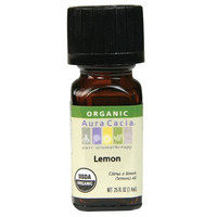 Aura Acacia Organic Lemon Oil, 7.4 ml | NutriFarm.ca
