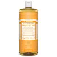 Dr. Bronner's Organic Citrus Pure Castile Liquid Soap, 946 ml | NutriFarm.ca