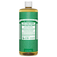 Dr. Bronner's Organic Almond Oil Pure Castile Liquid Soap, 946 ml | NutriFarm.ca