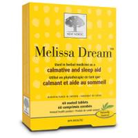 New Nordic Melissa Dream, 60 Tablets | NutriFarm.ca
