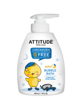Attitude Little Ones Night Bubble Bath Almond Milk, 300 ml | NutriFarm.ca