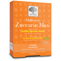 New Nordic Mulberry Zuccarin Max, 60 Tablets | NutriFarm.ca