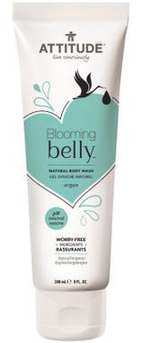 Attitude Blooming Belly Natural Body Wash Argan, 240 ml | NutriFarm.ca