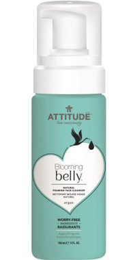 Attitude Blooming Belly Natural Foaming Face Cleanser Argan, 150 ml | NutriFarm.ca