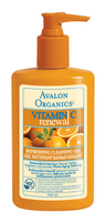 Avalon Organics Refreshing Facial Cleanser, 250 ml | NutriFarm.ca