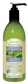 Avalon Organics Peppermint Hand Soap, 355 ml | NutriFarm.ca