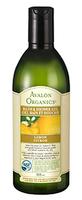 Avalon Organics Lemon Bath & Shower Gel, 355 ml | NutriFarm.ca