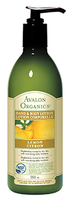 Avalon Organics Lemon Hand & Body Lotion, 355 ml | NutriFarm.ca