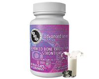 AOR Advanced Bone Protection Strontium 341 mg, 60 Vegetable Caps | NutriFarm.ca