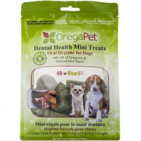 OregaPet Dental Health Mini Treats, 200 g | NutriFarm.ca