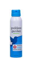 Goddess Garden Kids Sport Natural Sunscreen Continuous Spray SPF 30, 100 ml | NutriFarm.ca