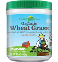 Amazing Grass Organic Wheat Grass, 240 g | NutriFarm.ca