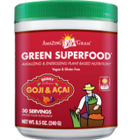 Amazing Grass Green Superfood (Berry), 240 g | NutriFarm.ca