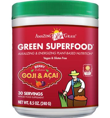 Amazing Grass Green Superfood (Berry), 240 g | NutriFarm.ca